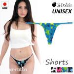 日本製 ユニセックス 薄手 ソフトストレッチ ショーツ Tバック 星柄 男女兼用 UNISEX La-Pomme(ラポーム ラ・ポーム) 720005